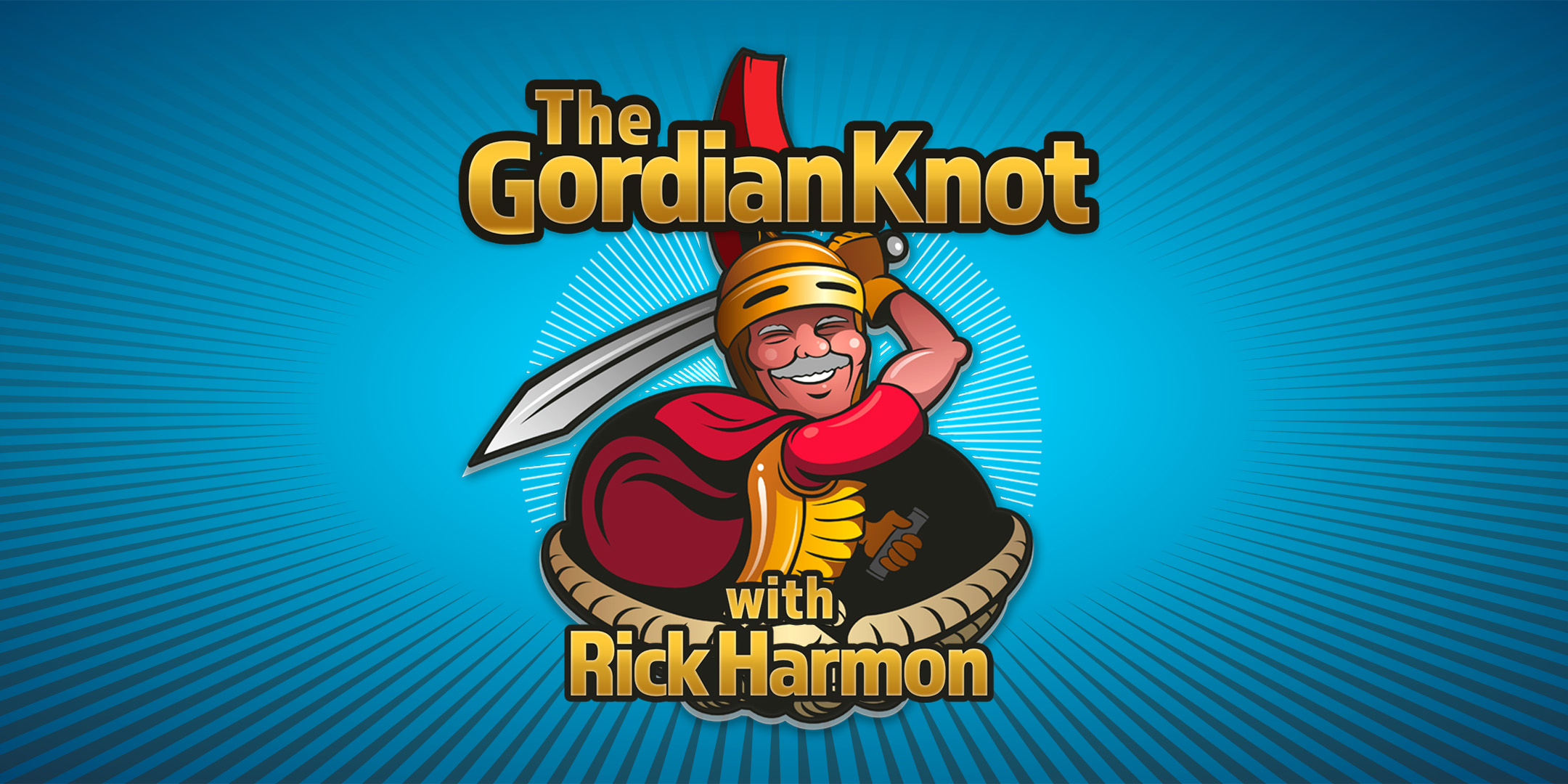 The Gordian Knot Show with Rick Harmon Homepage Banner